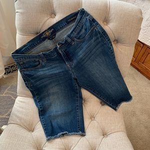 Lucky Brand Bermuda Jean Shorts